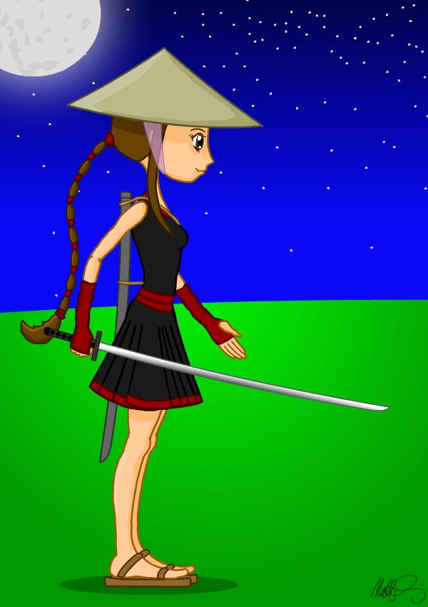 Ninja Girl - Yuko character